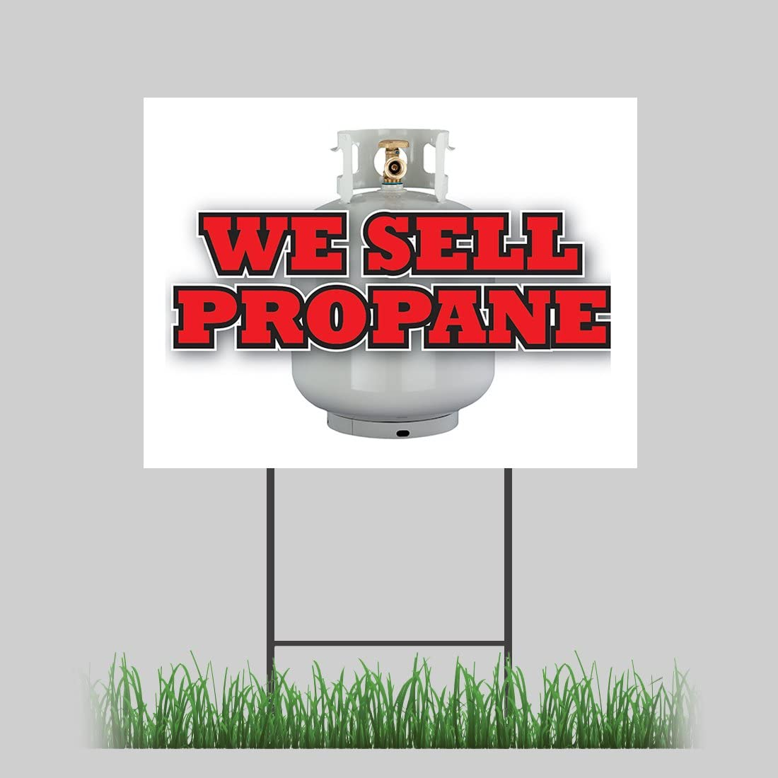 18x24 We Sell Propane Yard Sign Grilling Hardware Store Retail Store Sign