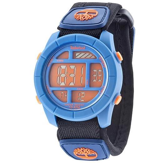 TIMBERLAND Reloj Digital para Hombre de Cuarzo con Correa en Tela TBL.14501JPBL/17: Amazon.es: Relojes