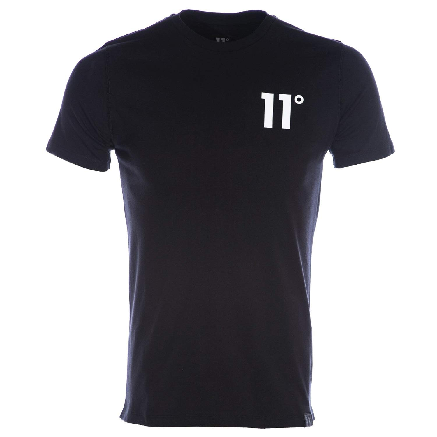 TALLA S. 11 Degrees 11D-007 Core Half Sleeve T-Shirt - Black