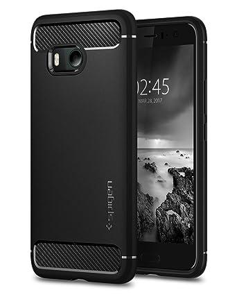 Spigen Rugged Armor Designed for HTC U11 Case (2017) - Black