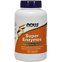 Now Foods | Super Enzyme | 180 Capsules