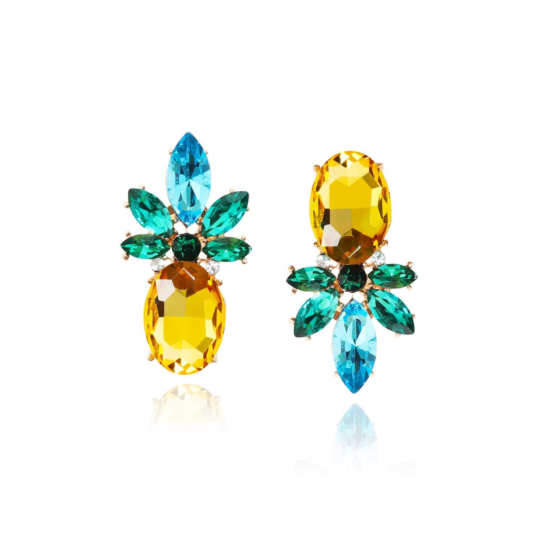 Lukki Lukki Cute Pineapple Stud Earrings for Women and Girls