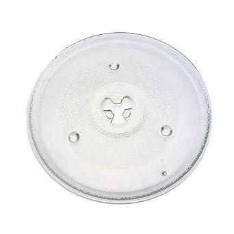 Bandeja de cristal – horno microondas – Whirlpool: Amazon.es ...