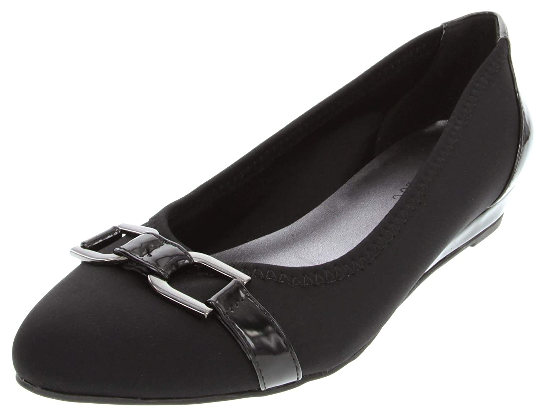 London Fog Womens Chelsea Demi Wedge Dress Shoe