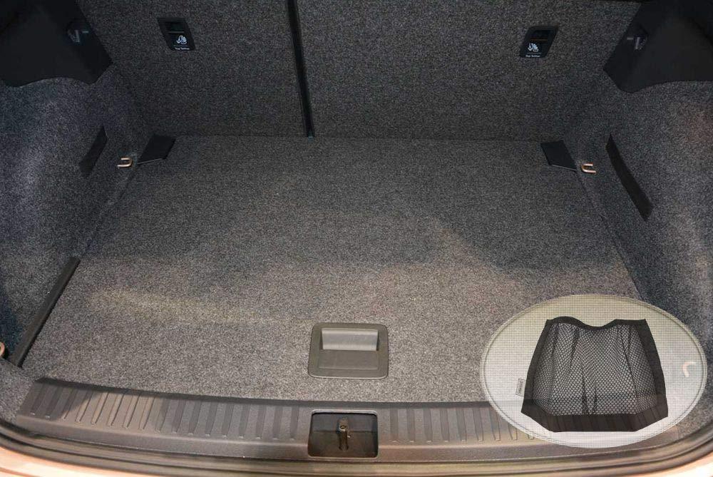 Geriffelte Kofferraumwanne für Porsche Macan Steilheck Geländewagen SUV 5-türer