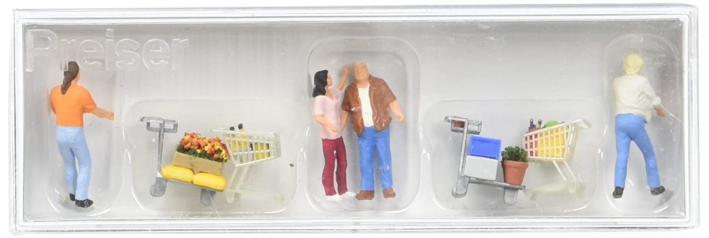 "Preiser 10569 H0 Figurines /"" At Hairdresser # NEW original packaging ##"