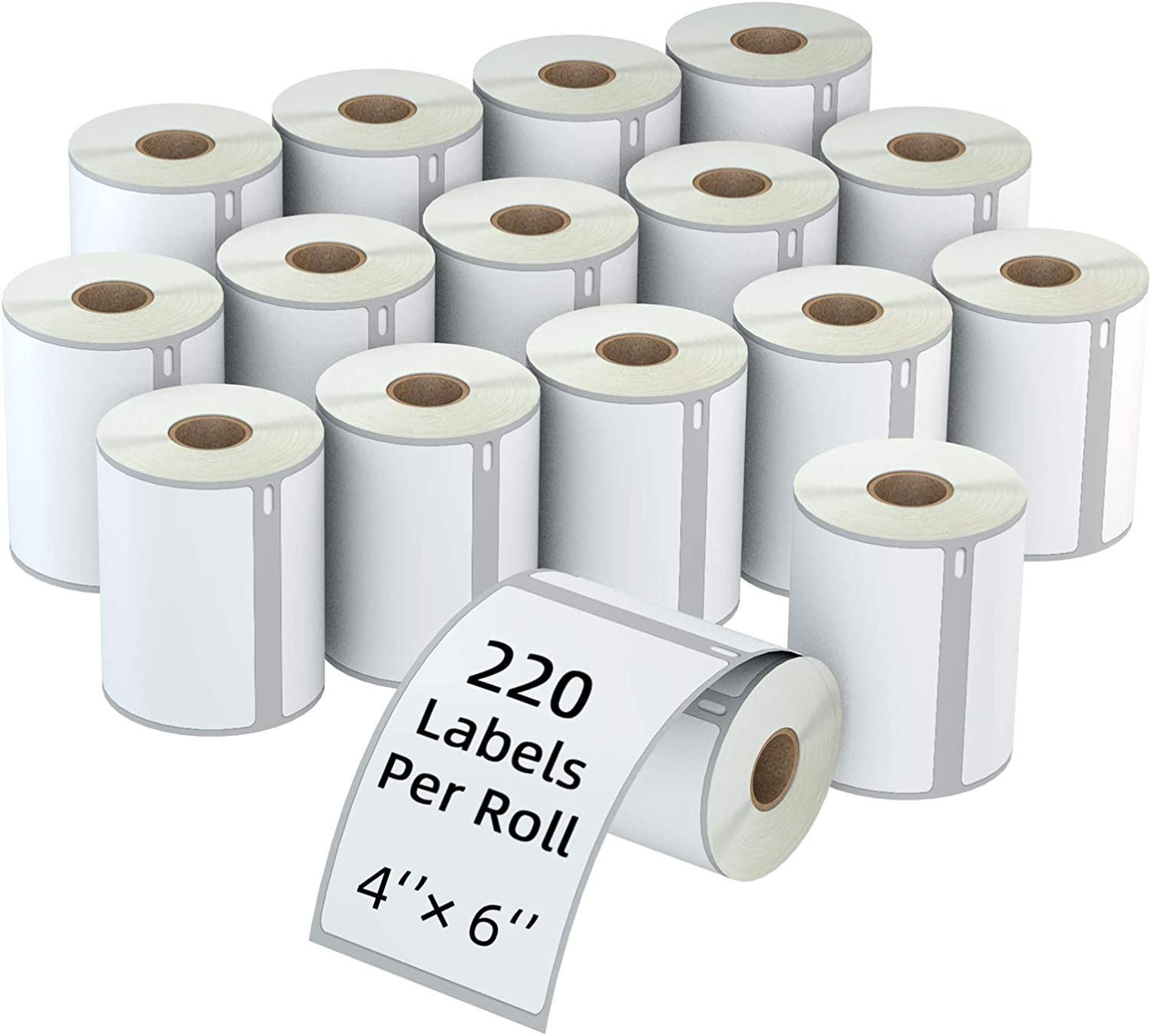 1744907 Best Print Dymo Compatible 4 x 6 inch Thermal Labels 1 roll of 220