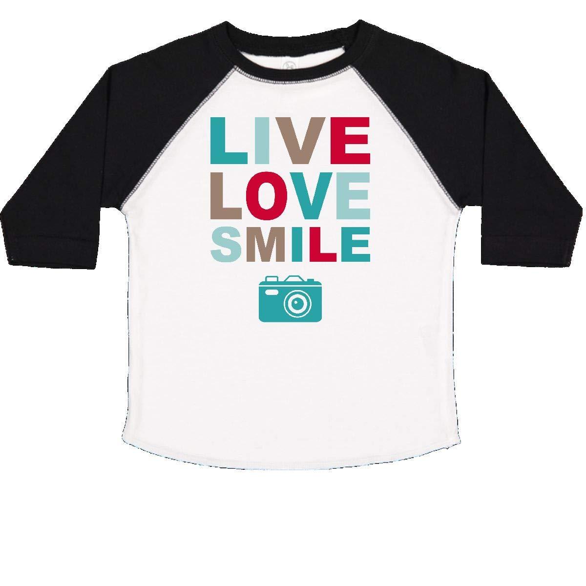 inktastic Live Love Smile Toddler T-Shirt