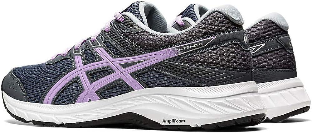 ASICS Gel-Contend 6, Running Shoe Femme Carrier Grey Lilac Tech