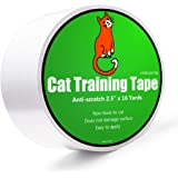 Anti-Scratch Cat Tape for Furniture - Stop Cat from Scratching Couch,Corners of Chair,Door Frame, Counter Top and Carpet…