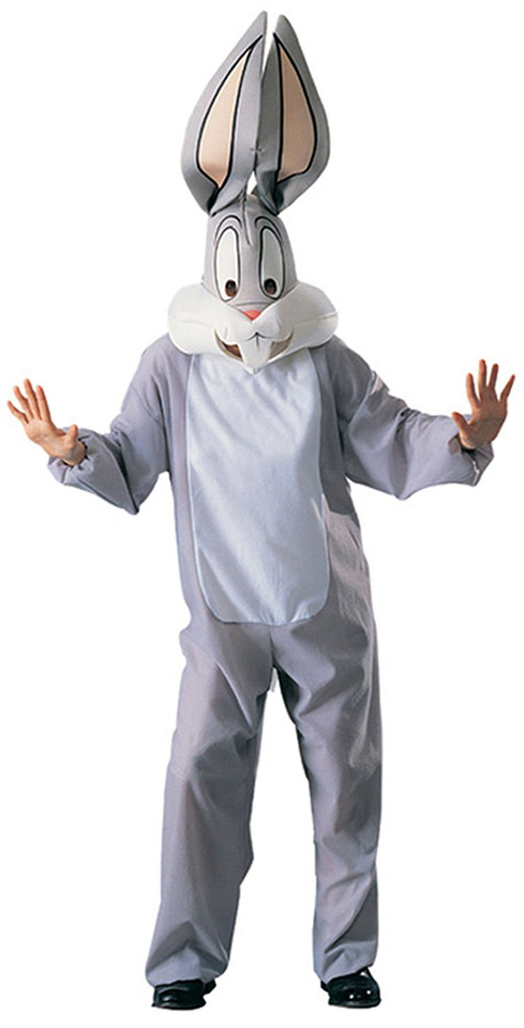 What's Up  Doc? Become Bugs Bunny with this authentic Looney Tunes - Adult Fancy Dress Costume - Standard
