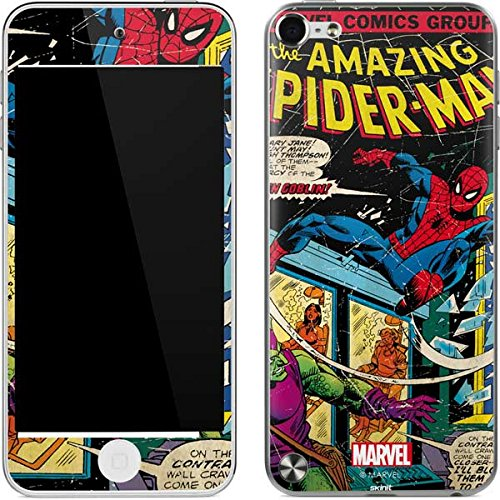 Marvel Comics iPod Touch (5th Gen&2012) Skin - Marvel Comics Spiderman Vinyl Decal Skin For Your iPod Touch (5th Gen&2012)