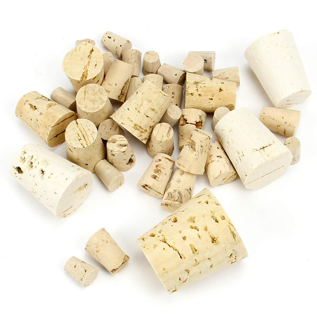 Hygloss Cork Stoppers, Assorted Sizes, 40 Pcs. by Hygloss