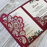 Forma de encaje Troqueles de corte, Letmefun Plantillas de troqueles de corte de metal Nuevo 2019 Bordes de flores Manualidades Troquelados Para DIY Tarjetas de papel de Scrapbooking Decoraciones En relieve