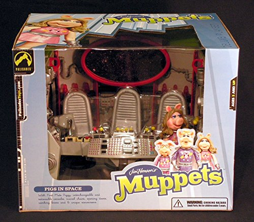Muppets in Space Miss Piggy Swine Trek (Star Trek Spoof) Playset