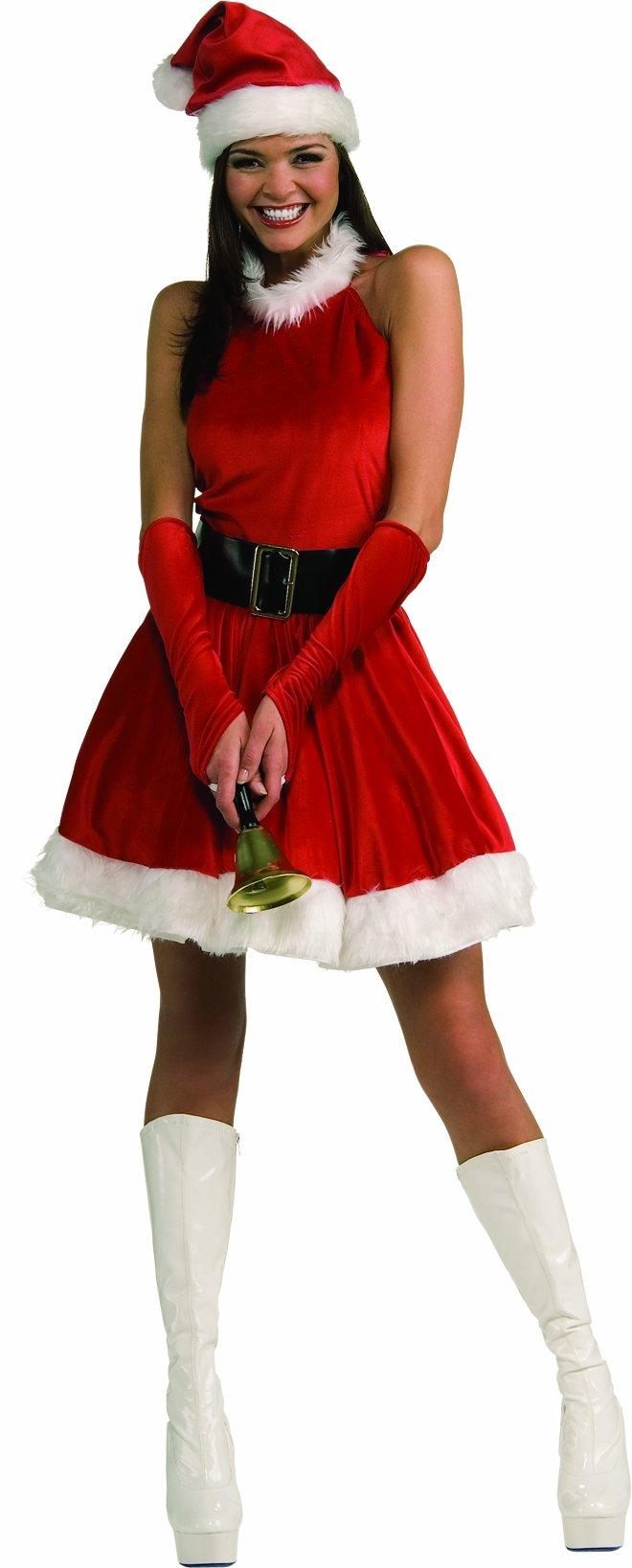 Secret Wishes Santa's Inspiration Costume, Red, Small