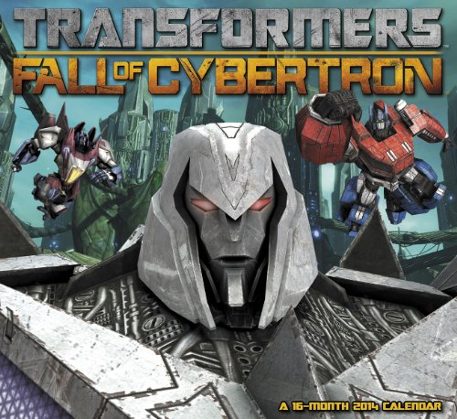 Price comparison product image 2014 Transformers Fall of Cybertron Wall Calendar