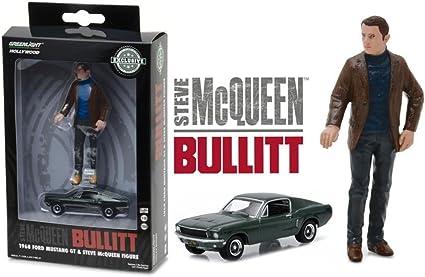 Bullitt personaje McQueen 1:18 GreenLight 29931 1968 Ford Mustang GT fastback 1:64