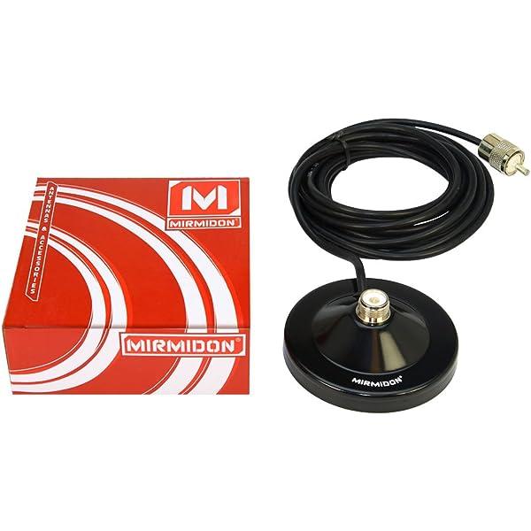 MIRMIDON BM90 Base Magnética 9 cm. 4,5 MTS. RG-58 + ...