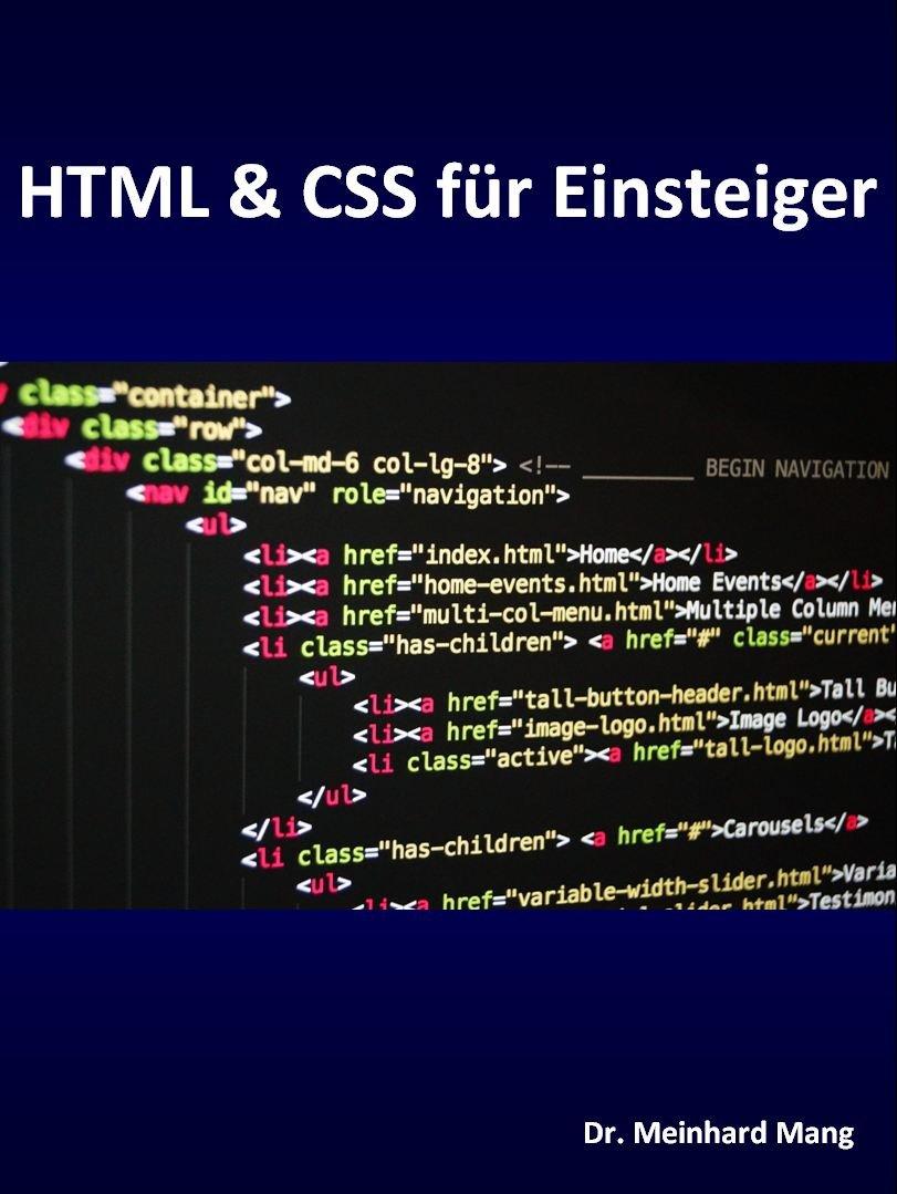 HTML And CSS Für Einsteiger