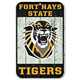 WinCraft Fort Hays State Tigers Official NCAA 11'' x 17'' Fence Plastic Wall Sign 11x17 by 806574