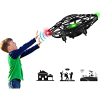 Mini Drone Flying Toy Hand Operated Drones for Kids or Adults - Hands Free UFO Helicopter, Easy Indoor Outdoor Flying…