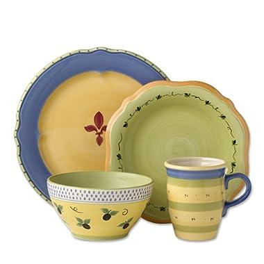 Pfaltzgraff Pistoulet Blue Dinnerware Set (32 Piece)