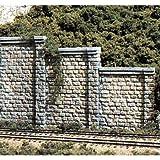 Woodland Scenics HO Retaining Wall, Cut Stone WOOC1259