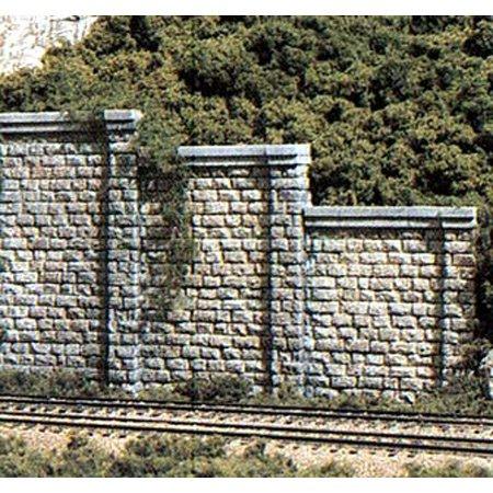 (Woodland Scenics HO Retaining Wall, Cut Stone)
