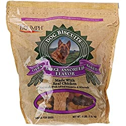 Triumph Large Assorted Dog Biscuits, 4 lb.