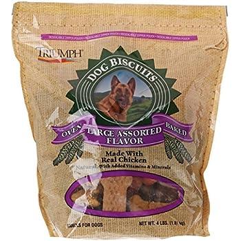 Amazon.com : Triumph Large Assorted Dog Biscuits, 4 Lb