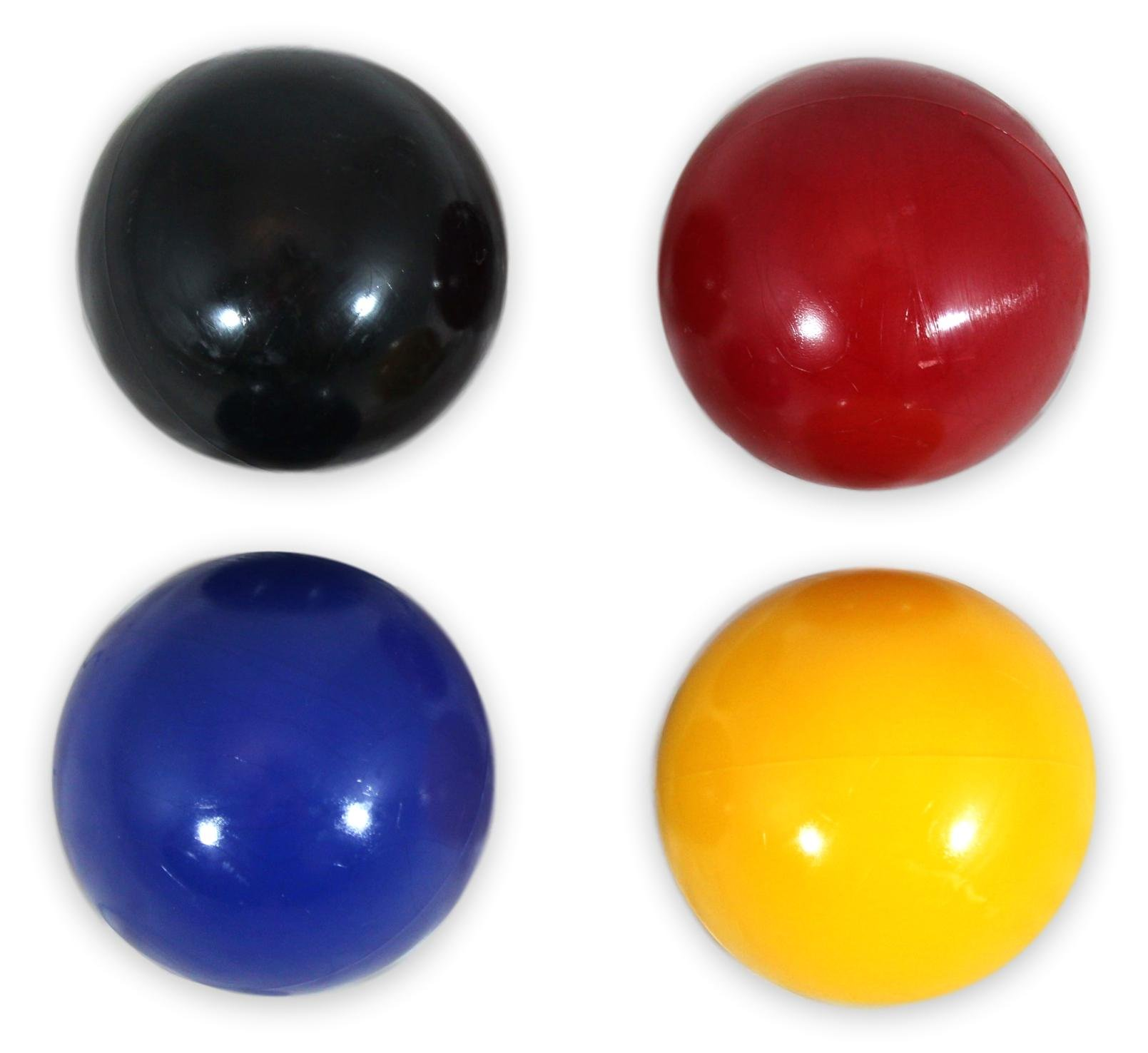 AmishToyBox.com Set of 4 Replacement Croquet Balls, Made in the USA, by AmishToyBox.com