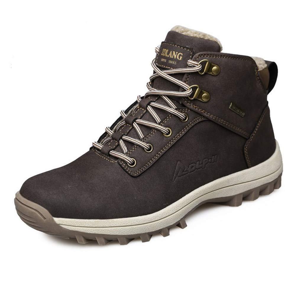 Homme Anti-Dérapant Chaussures de Randonnée Chaussures Sports de Imperméable Boots Sécurité pour Le Travail et Trekking