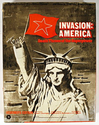 SPI: Invasion America, Death Throes of the Superpower, Board Games