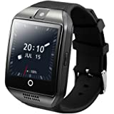 MECKWELL Model 5 3GB Ram 4G LTE Bluetooth Smart Watch Touchscreen with Camera, Unlocked Watch Cell Phone with Sim Card Slot