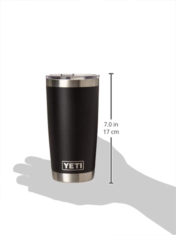 18//8 acier inoxydable double paroi isolé Tumbler No Sweat YETII Rambler 30 oz environ 850.47 g