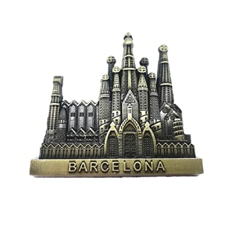 Jian Ai Craft - Imán para Nevera, diseño de Barcelona: Amazon.es ...