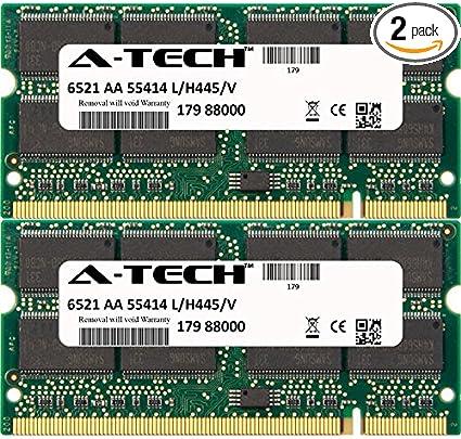 2GB KIT 2 x 1GB HP Compaq Business nx9100 nx9105 nx9110 nx9110ct Ram Memory