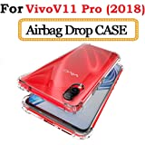 Vivo V11 Pro 2018 Case Cover Lokezeep Ultra Thin Protective Anti Drop Back Case Cover for Vivo V11 Pro with Screen and Camera Protection with Bumper Corner (Transparent)
