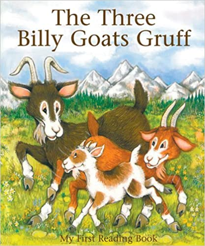 Billy Goats Gruff My First Reading Book by Janet Brown