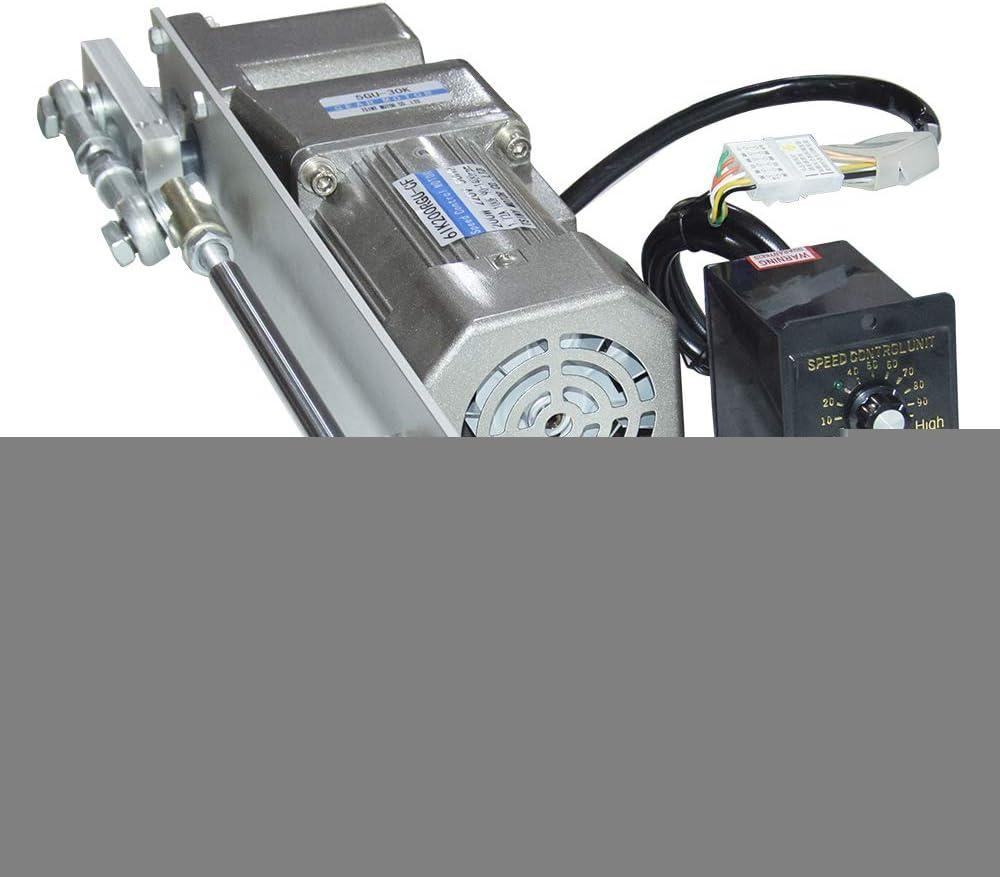 12V//24V//110V//220V Gear Box Speed Torque Reversible Gearmotor Adapter 6RPM-400RPM