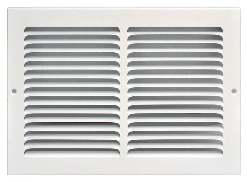 Speedi-Grille SG-148 RAG White Return Air Vent Grille with Fixed Blades by Speedi-Grille