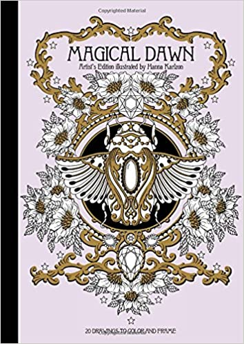 Book Magical Dawn Artist's Edition: Published in Sweden as