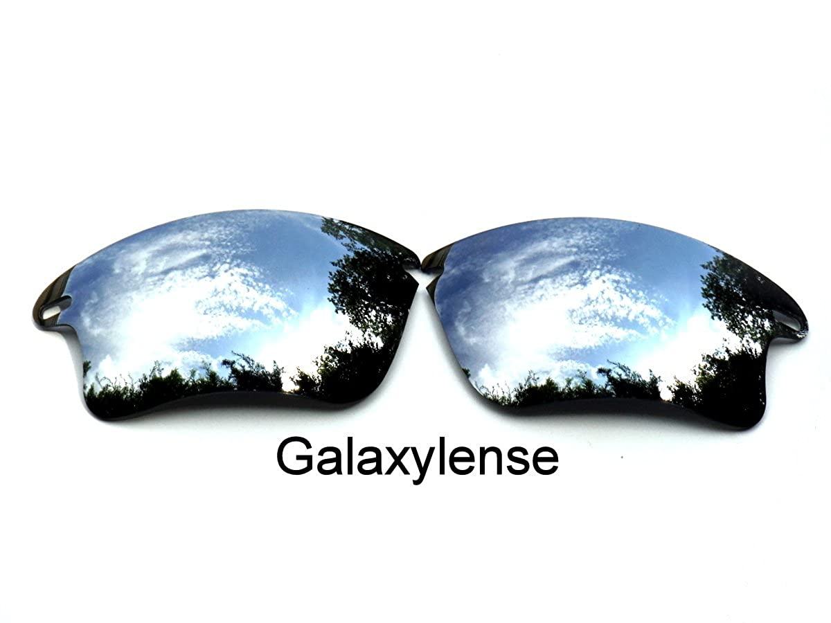 64e4b502e50 Amazon.com  Galaxy Replacement Lenses for Oakley Fast Jacket XL Titanium Color  Polarized  Clothing