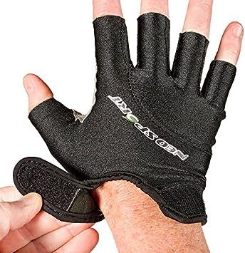 Schnorcheln /& Wasserski NeoSport Wetsuits Premium-Neopren 1,5/mm 3//4/Finger Handschuh Tauchen schwarz