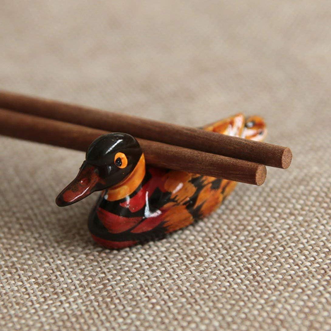 Swiftswan Painted Chopsticks Creative Chopsticks Chopstick Holder Cute Resin Painted Chopstick Holder