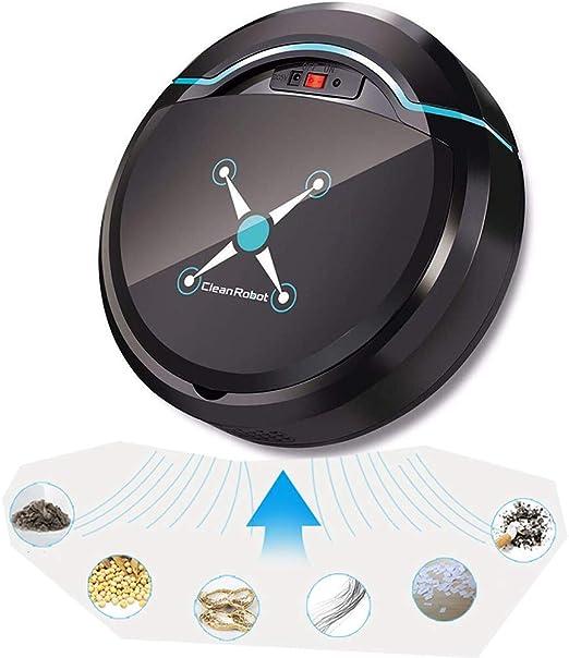 LSJZF Máquina Barredora, De Carga USB Aspiradora Robot para ...