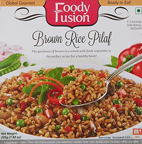 Foody Fusion Brown Rice Pilaf, 225g