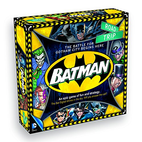 Aquarius Batman Road Trip Board Game