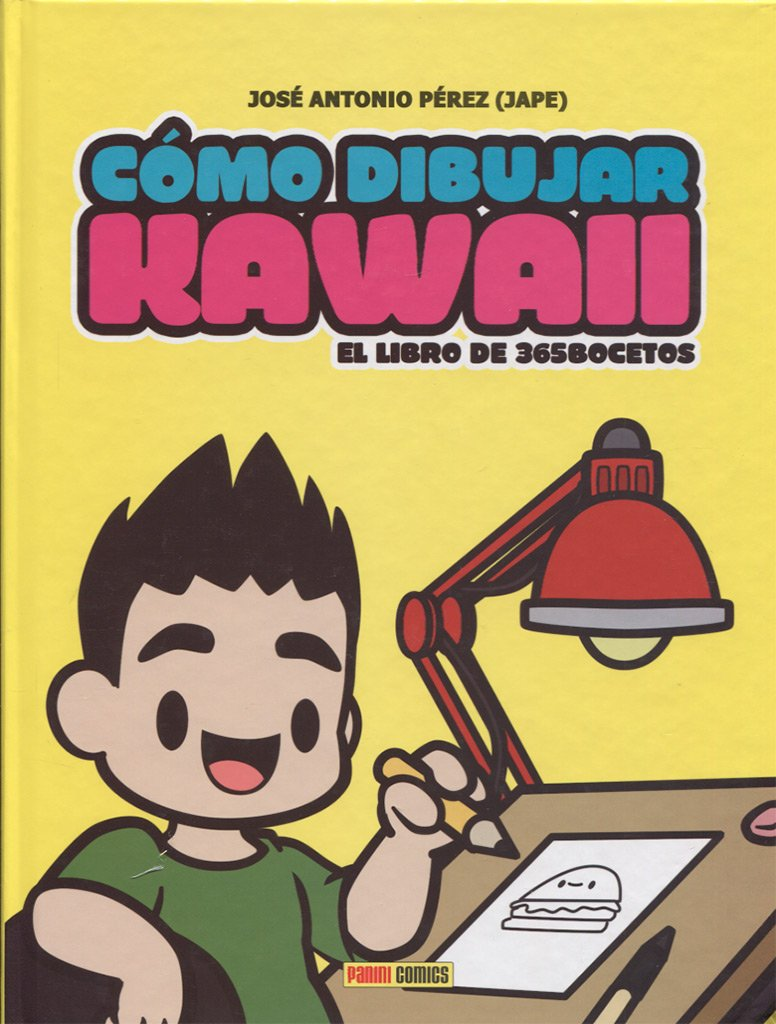 Como Dibujar Kawaii El Libro De 365 Bocetos Amazon Es
